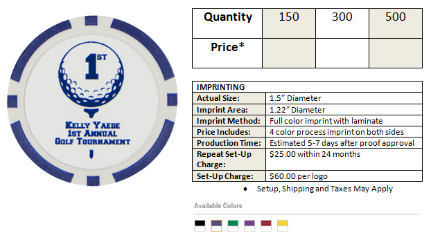 tees6 Poker Chip